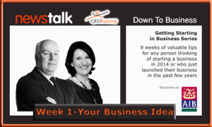 Down to Business Wk 1